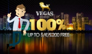 Vegas Paradise Welcome Offer