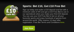 Play £10 - Get £10 Free at ComeOn Casino