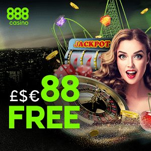 Sign Up To 888 Casino to Receive £88 No Deposit Needed