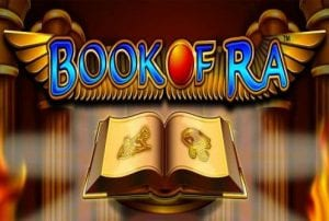 The Classic Logo of The Book of Ra Slot