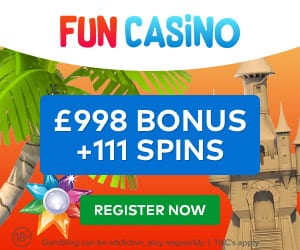 £998 Welcome Bonus at Fun Casino