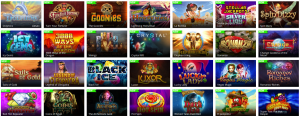 Just a Selection of the MASSIVE Choice of Games at Toptally Casino