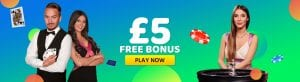Monster Casino £5 Free Bonus