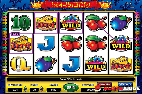 Play Wilds on Reel King Slot Online