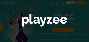 PlayZee Casino Online Logo Banner Official Bonus