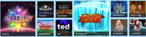 A Great Collection of Games To Use Your Welcome Bonus