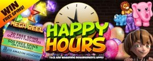 Win Even MORE Prizes with Cheeky Casino Special Happy Hours