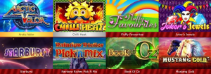 Hundred of Amazing Slots Offered With Full Mobile Compatibility