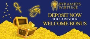 Play Eygyptian Games with £850 Welcome Bonus