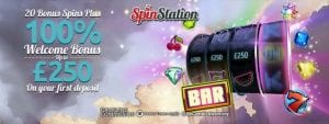 Up to £1250 at Spin Station