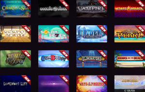 Massive Choice of Games and Slots