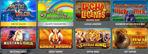 Play Some of the Latest Slots Games at Takeaway Slots Casino