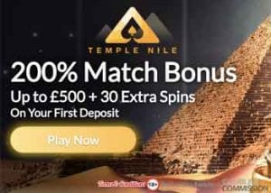 With a Generous Welcome Bonus on Offer, Temple Nile is an Excellent Egyptian Themed Casino