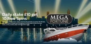 William Hill Bonus Spins Here Today