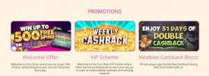 All The Promotions Online at Coco Slots Casino
