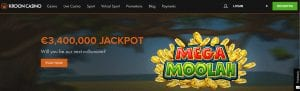 Huge Jackpots to Be Won On Mega Moolah Slot