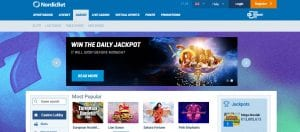 Win The Daily Jackpot Online at NordicBet Casino