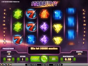 Starburst Slot at Oranje Casino