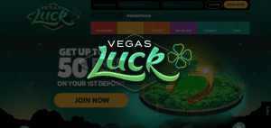 LIVE Casino Gaming at Vegas Lucky Casino