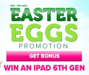 Win an iPad at CasinoLuck This Easter