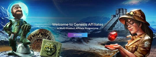 Join the Genesis Affiliates Programme