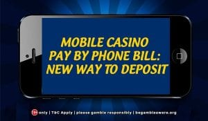 Pay by Mobile at Monster Casino