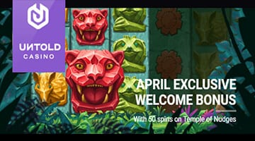 April Offers from Untold Casino