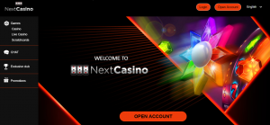 NextCasino Official Homepage