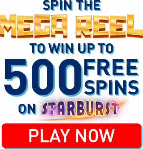 Sign Up Today To Get a Mega Reel Spin