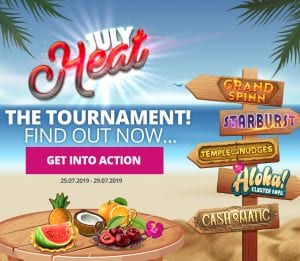 July Heat Tournament at WildSlots Casino