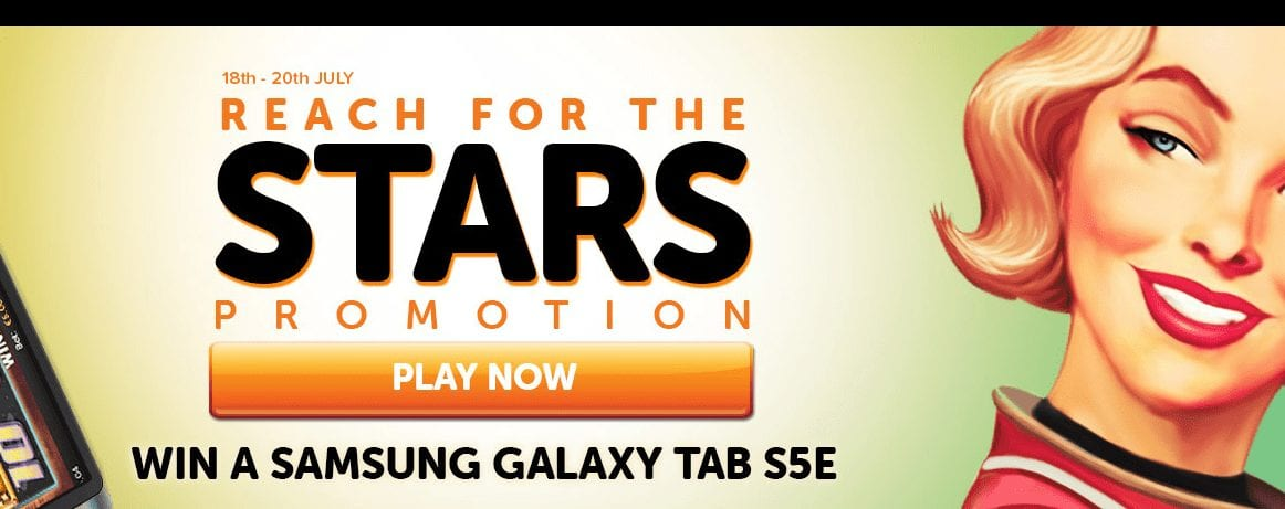 Take Part in The Reach For The Stars Promotion & See If You Could Get Your Hands on a Samsung Galaxy Tab S5e