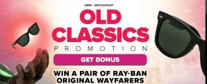Old Classics Promotion at NextCasino in English
