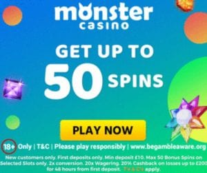 The New Welcome Bonus Offered by Monster Casino