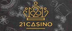 21 Casino Banner Logo Official 2019