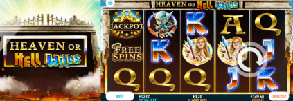 Heaven or Hell Wilds at Dr Slot Casino