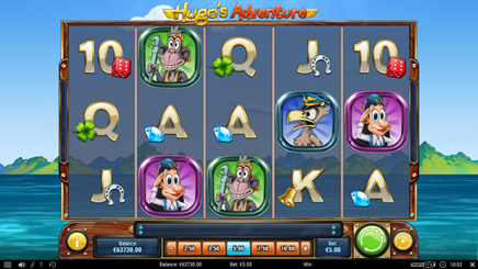 Hugo's Adventure Slot Game