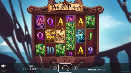 Pixies vs Pirates Online Slot