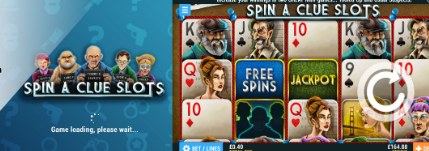 Spin A Clue Slots Game at PocketWin Casino