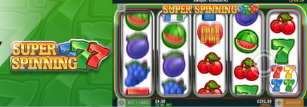 Super Spinning 7's Slot at Cashmo Casino