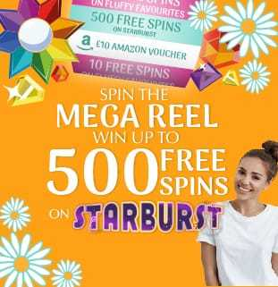 The Mega Reel Welcome Bonus Offered at Daisy Slots Casino