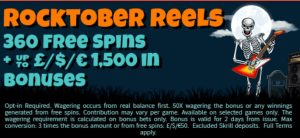 See The Halloween Promotion Offered by Mr Mobi Casino