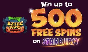 Win Up to 500 Free Spins On Starburst
