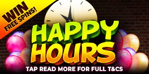 Free Spins Happy Hour at Casper Games
