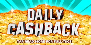 Daily Cashback Offer at Casper Games Casino