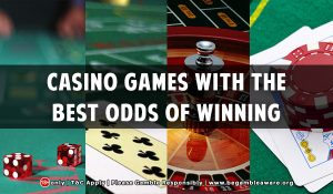 Casino Games With The Best Odds Of Winning