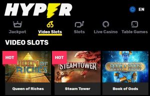 Hyper Casino Video Slots and Jackpot Games