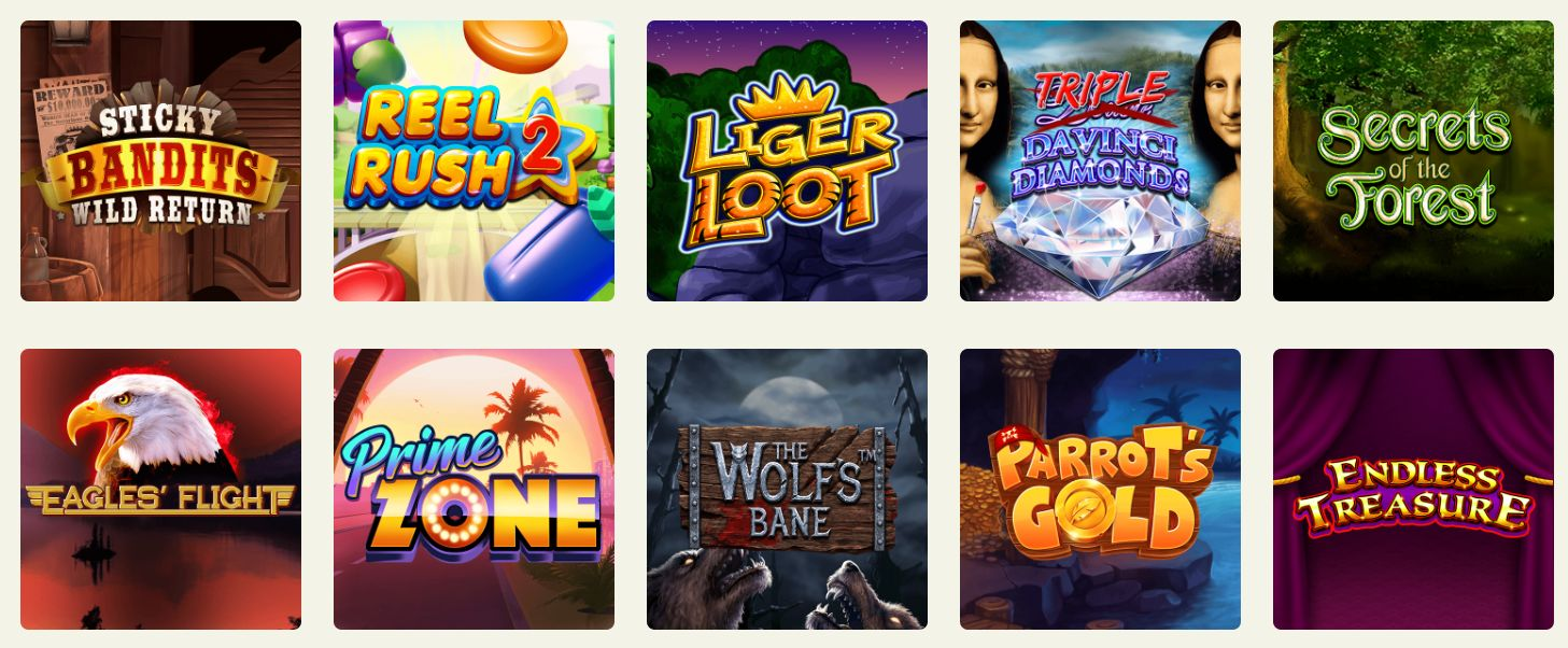 Some of the Top Slot Games On Offer