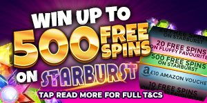 Win Up to 500 Free Spins at Touch Spins Casino