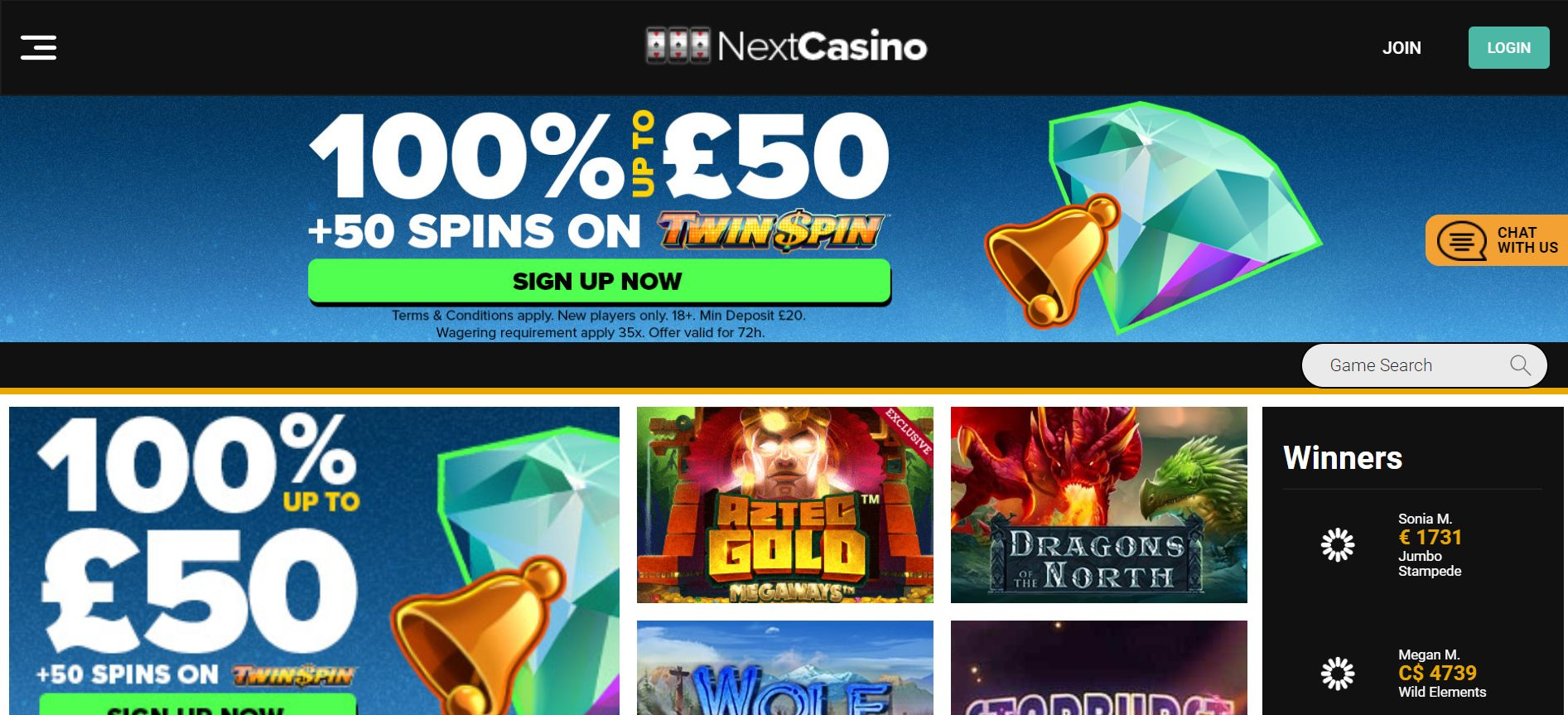 See The New Updated Look at NextCasino