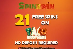 No Deposit Bonus at Spinzwin Casino